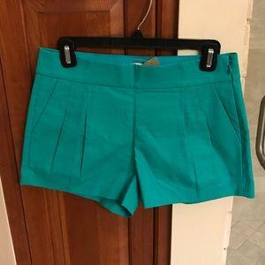 NWT! J.Crew Pleated Shorts